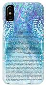 Angels Ketubah-reformed And Interfaith Version IPhone Case
