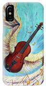 Angel's Song IPhone Case by Nancy Cupp