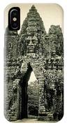Angkor Thom Southern Gate IPhone Case