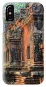Angkor Wat Ruins - Siem Reap, Cambodia IPhone Case