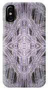 Angles In Ice On Monadnock - A4 IPhone Case