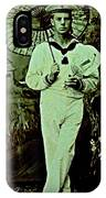 Anglo Sailor In China Ca 1890 IPhone Case
