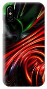 Angry Clown Abstract IPhone Case