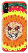 Angry Flower IPhone Case