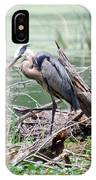 Angry Heron IPhone Case