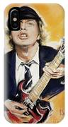 Angus Young IPhone Case