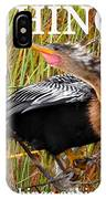 Anhinga The Swimming Bird IPhone Case
