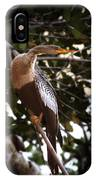 Anhinga Water Fowl IPhone Case