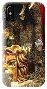 Animal Masks From Venice IPhone Case
