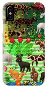 Animal Tapestry IPhone Case