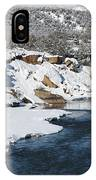 Animas River In January IPhone Case