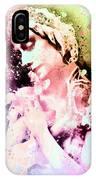 Anna Pavlova Whimsical Ballerina IPhone Case