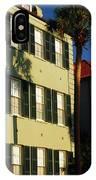Antebellum Row Hosues IPhone Case