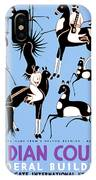 Antelope Hunt From A Navajo Drawing IPhone Case