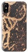 Antelope Petroglyph IPhone Case