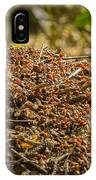 Anthill In Forest IPhone Case