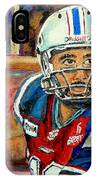 Anthony Calvillo IPhone Case