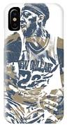 Anthony Davis New Orleans Pelicans Pixel Art 21 IPhone Case