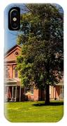 Anthony Hall - Storer College IPhone Case
