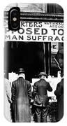 Anti-suffrage Association IPhone Case