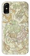 Antique Celestial Map IPhone Case