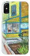 Antique Row In Kensington Md IPhone Case