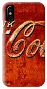 Antique Soda Cooler 3 IPhone Case