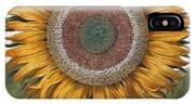 Antique Sunflower Print IPhone Case