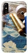 Antique Tapestry Repair  IPhone Case