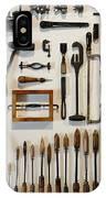 Antique Tools IPhone Case