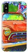 Antique Tow Truck IPhone Case