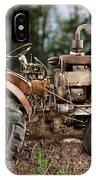 Antique Tractor IPhone Case