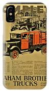 Antique Truck Poster IPhone Case