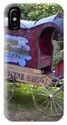 Antique Wine Wagon IPhone Case