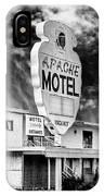 Apache Motel Tucumcari IPhone Case
