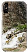 Apikuni Falls IPhone Case by Margaret Pitcher