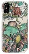 Apocalypse, Nuremberg Chronicle, 1493 IPhone Case