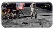 Apollo 16 Astronaut Leaps IPhone Case