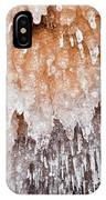Apostle Islands Icicle Cave IPhone Case