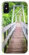 Appalachian Bridge IPhone Case