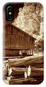 Appalachian Saw Mill IPhone Case