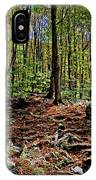 Appalachian Trail Clearing IPhone Case