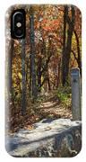 Appalachian Trail In Shenandoah National Park IPhone Case