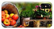 Apple Basket And Other Objects Still Life L B With Alt. Decorative Ornate Printed Frame. IPhone Case