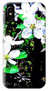 Apple Blossoms In Blue White Mist IPhone Case