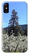 Apple Orchard In Bloom IPhone Case