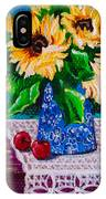Apples  Sunflowers IPhone Case