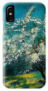 Appletree In Spring IPhone Case