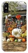 Applewood Farmhouse Grill Harvest Scene IPhone Case