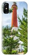 Approach To Barnegat Light IPhone Case